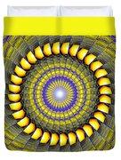 Infinity Gateway Nine Kaleidoscope Duvet Cover
