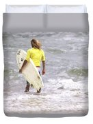 Into The Water Duvet Cover