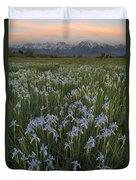 Iris Field Duvet Cover