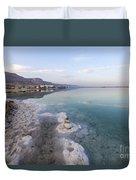 Israel Dead Sea Duvet Cover