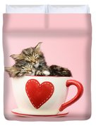 It Must Be Love Duvet Cover by Greg Cuddiford