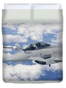 Italian Air Force Eurofighter Typhoon Duvet Cover