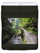 Ithaca Gorge Duvet Cover