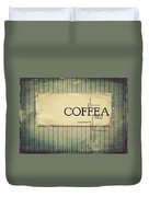 It's Coffee Time Duvet Cover