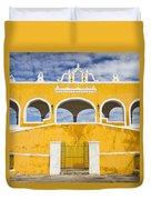 Izamal Convent Duvet Cover