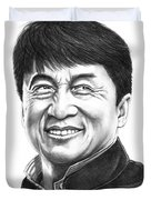 Jackie Chan Duvet Cover