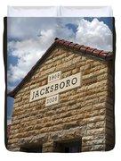 Jacksboro Texas Duvet Cover