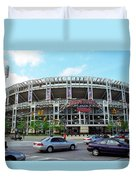 Jacobs Field - Cleveland Indians Duvet Cover