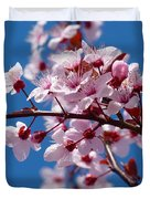 Japanese Cherry Tree Duvet Cover