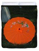 Japanese Umbrella Duvet Cover
