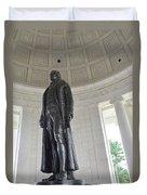 Jefferson Memorial # 6 Duvet Cover