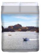 Jersey - Elizabeth Castle Duvet Cover