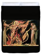 Jerusalem The Emanation Of The Giant Albion Duvet Cover by William Blake