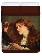 Jo The Beautiful Irish Girl Duvet Cover
