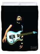 Joe Satriani Painting Duvet Cover