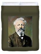 Jules Verne (1828-1905) Duvet Cover