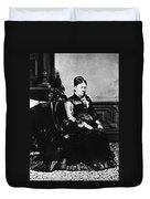 Julia Dent Grant (1826-1902) Duvet Cover