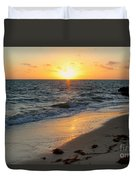 Kamalame Beach Duvet Cover