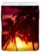 Kamaole Nights Duvet Cover