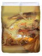 Kathak Dancer 4 Duvet Cover