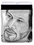 Keanu Reeves Duvet Cover