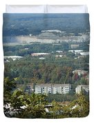 Kennesaw Battlefield Mountain Duvet Cover