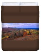 Keweenaw Peninsula And Copper Harbor Duvet Cover