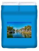 Key Largo Canal 3 Duvet Cover