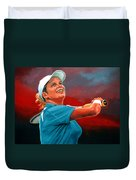 Kim Clijsters Duvet Cover