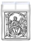 King David (d Duvet Cover