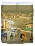 Kings Cross Railway Station London  Duvet Cover