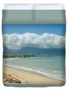 Kite Beach Kanaha Maui Hawaii Duvet Cover