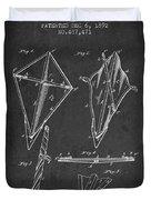 Kite Patent From 1892 Duvet Cover