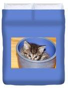 Kitten Duvet Cover