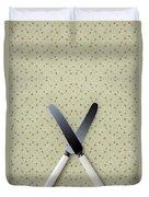 Knives Duvet Cover