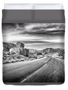 Kyle Canyon Road Duvet Cover