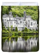 Kylemore Abbeycounty Galway Ireland Duvet Cover