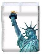 Lady Liberty  Duvet Cover by Jaroslav Frank