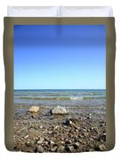 Lake Huron Duvet Cover