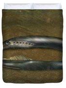 Lamprey Eel, Illustration Duvet Cover