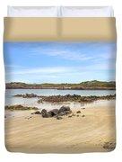 L'ancresse Bay - Guernsey Duvet Cover by Joana Kruse