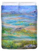 Landscape After Rassuman Duvet Cover