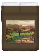 Landscape From Bretagne Duvet Cover