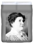 Laura Ingalls Wilder (1867-1957) Duvet Cover
