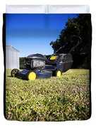 Lawn Mower Duvet Cover