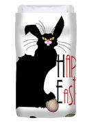 Le Chat Noir - Easter Duvet Cover