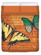 Le Papillon 3 Duvet Cover
