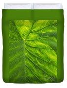 Leafy Green Duvet Cover