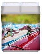 Leaping Jaguar Duvet Cover