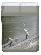 Learning To Fish Duvet Cover